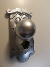 ALICE IN WONDERLAND USED FIXING DOOR KNOB CHARACTER  METALLIC SILVER