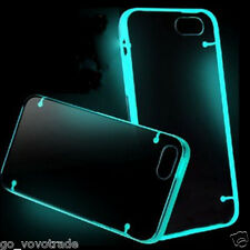 "SKY Blue Glow TPU Rubber Ultra Thin Clear Case Cover for iPhone 6 4.7"" Stylish"