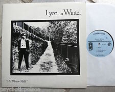 LYON IN WINTER ‎– As Winter Falls LP Cryptovision ‎CRL 1300 Top Synth Pop Album