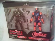 Marvel Legends Civil War 2 Pack WAR MACHINE & IRON MAN MARK 27 BRAND NEW