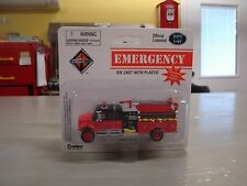 Boley Dept1-87 Fire Dept Crew Cab Fire Truck HO  BLACK AND RED