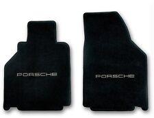 2001-2005 Porsche 911 Carpet Floor Mats with Silver Porsche Logo