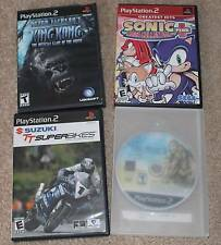 4 Playstation 2 Games Final Fantasy XII, King Kong, Sonic Plus +, TT Superbikes!