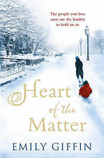 Heart of the Matter Giffin, Emily Very Good Book