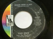 "GARY LEWIS AND THE PLAYBOYS 45 RPM ""Sealed With a Kiss"" ""Sara Jane"" VG"