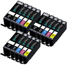 15 Cartouches d'encre (Set) pour Canon Pixma iP7250 MG5550 MG6650 MG5450