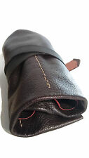 Watch  Roll Leather Brown box New Pouch  Case  Travel storage 4 Slots Wallet