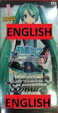 Weiss Schwarz HATSUNE MIKU ENGLISH Project Diva f Booster Box BUY 2FREE PRIORITY