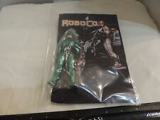 Bootleg Robo Cop Action Figure With Weapon Green Armor and Custom Card