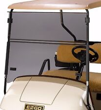 EZGO Golf Cart Tinted Fold Down Windshield TXT & Medalist 1995-Up