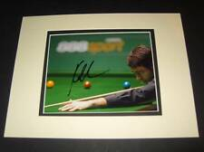 Ronnie O Sullivan the Rocket Snooker legend signed& mounted photo AFTAL