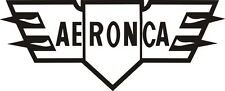 D103 Aeronca Airplanes decal stickers - one set of two (FREE SHIPPING)