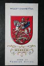 MOSCOW   Imperial Russia    City Arms   Original  1912 Vintage Card