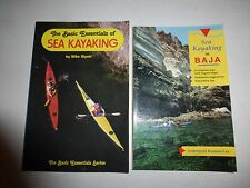 2 Lot Kayaking Books,Essentials Sea KayakerVancouver Island&Sea Kayaking Baja157