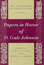 The Economics of Agriculture, Volume 2: Papers in Honor of D. Gale Johnson (Econ