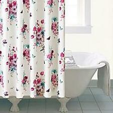 Shabby Chic Vintage Style Floral Shower Curtain