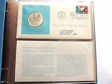1975 U.N. 1st Edition Proof Five Different Sterling Silver Commemorative Medals