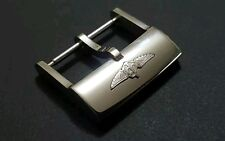 New Breitling 20mm Stainless Steel Silver Watch Buckle (B-14)