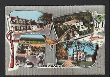 LES CHOUX (45) AUBERGE DU LION D'OR ,CHATEAU DE CORMONT , EGLISE décor CHASSE