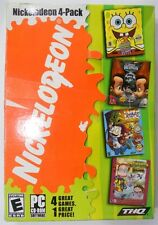 Nickelodeon 4-Pack PC 2004 XP NEW Spongebob Squarepants Operation Krabby Patty