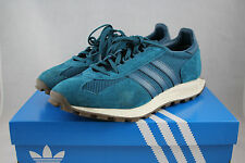 adidas Racing 1 Men's Shoes (Sz. 8) Mineral Blue S79141 Used