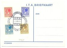 NETHERLANDS  1928   I.T.A.KAART  PM= EXH. EAST AND WEST INDIES   F/VF  @2
