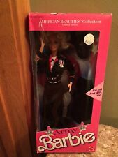 Army 1989 Barbie Doll Mattel vintage new box nib American beauties collection