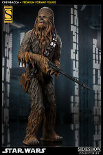 STAR WARS CHEWBACCA PREMIUM FORMAT FIGURE EXCLUSIVE STATUE SIDESHOW 59 CM