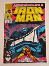 IRONMAN #264 VOL1 MARVEL ARMOUR WARS 2 BYRNE SCRIPT JANUARY 1991