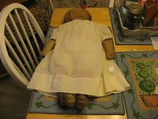 LATE 1800S EARLY 1900S ART FABRIC MILLS PRINTED ON MATERIAL CLOTH DOLL SEWN W D