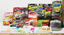 Vintage NASCAR Mixed Lot Die Cast Cars+Playing Cards+Decals+Mobil Cap+ #2 #24 #5