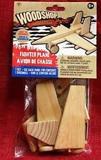 Jet Airplane Plane Wood Shop Wooden Model Build Own! Easy assembly Arts & Craft