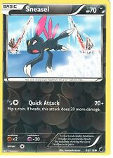POKEMON BLACK AND WHITE PLASMA FREEZE - SNEASEL 65/116 REV HOLO