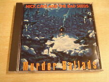 CD / NICK CAVE AND THE BAD SEEDS - MURDER BALLADS