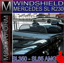 MERCEDES SL 230 R230 WINDSTOP WIND STOP DEFLECTOR WINDSHIELD SL500 SL600 SL63 65