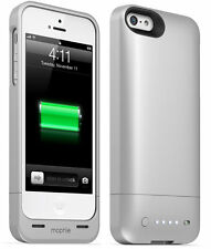 Mophie Juice Pack Helium Battery Pack iPhone SE 5s & 5 Silver Pokemon Go Extra