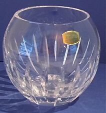 Atlantis Full Lead Crystal Bowl/Vase, Hand Blown and Cut, Portugal