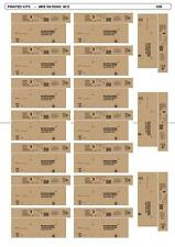 US ARMY MRE RATIONS BOXES 90´S  1/35