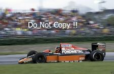 Olivier Grouillard Fondmetal F1 SpA F1 Season 1991 Photograph 2