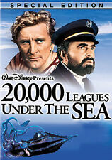 20,000 Leagues Under The Sea (DVD,1954)