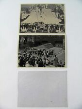 2 OLYMPIA 1936 Olympics SAMMELWERK Nr 13 and 14 .Berlin Olympics 1936