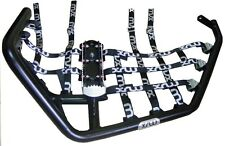 LTZ400 NERF BAR PRO PEG HEEL GUARD XRW Q1 NETTED SUZUKI RACE PROTECTION BLACK
