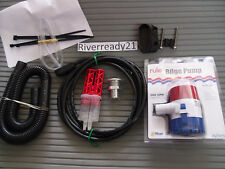 Yamaha Super-Jet Wave-Blaster-Runner Rule 500 Bilge Pump Kit Universal In Stock