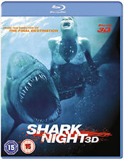 SHARK NIGHT 3D - BLU-RAY - REGION B UK