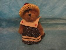Boyds Bears Caroline Mayflower Investment Collectibles With Tag 2000 Retired