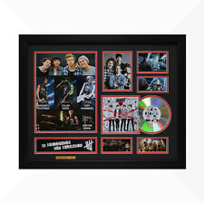 5 Seconds of Summer Signed & Framed Memorabilia - 1CD - Black/Red Edition
