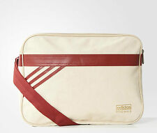 Adidas Originals Airliner Suede messenger shoulder bag Stone Khaki Genuine BNWT