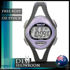 "Timex Women's ""Ironman"" Triathlon 50-Lap Resin Watch T5E511 Free EXPRESS Post"