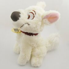"Disney BOLT Lovely Super Dog 25cm/10"" White Soft Plush Toy"