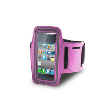 PORTACELLULARE AL BRACCIO ARMBAND SPORT CASE APPLE IPHONE 3G 3GS 4 4G 4S ROSA